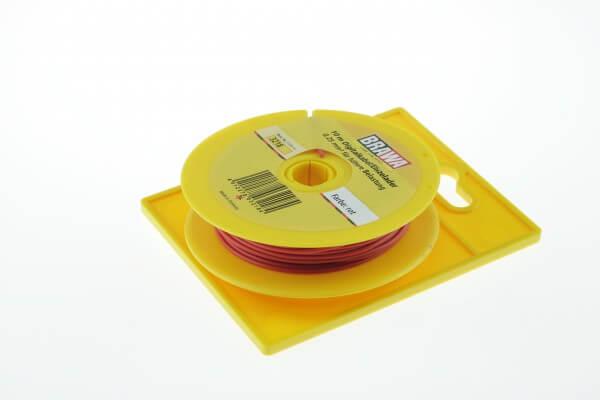 BRAWA 3218 Litze für digitalen Einsatz, 0,25 mm², 10-m rot