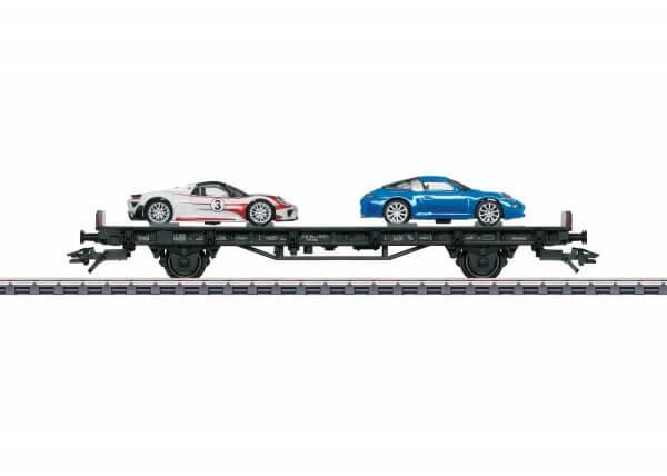 """Märklin 45058 Autotransportwagen """"70 Jahre Porsche-Sportwagen 8"""""""