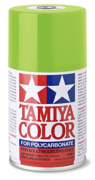 TAMIYA 300086008 PS-8 Hellgrün Polycarbonat 100ml