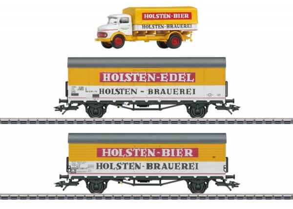 Märklin 46172 H0 Bierkühlwagen-Set Holsten