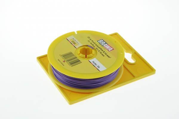 BRAWA 3150 Schaltlitze, 0,14 mm², 25-m lila