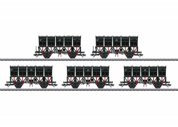 Märklin 46356 Muldenkippwagen-Set Ommi 51 Sondermodell
