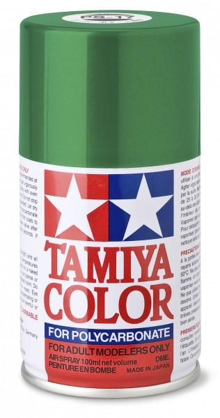 TAMIYA 300086017 PS-17 Metallic Grün Polycarbonat 100ml