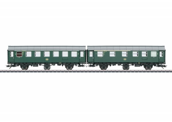 Märklin 43173 Reisezugwagen-Paar AB3ygeb mit B3ygeb mit Innenbeleuchtung