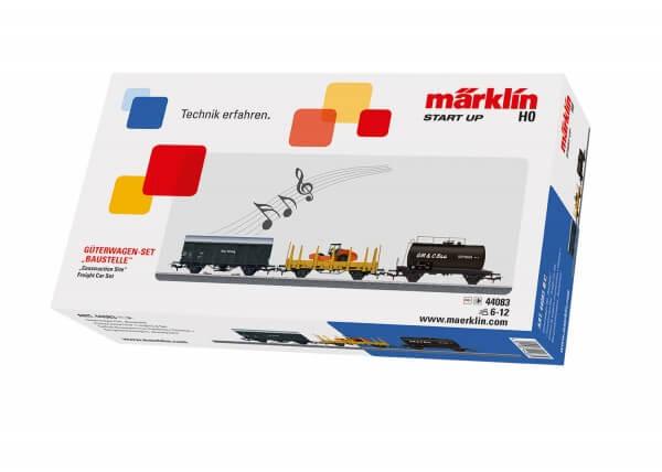 """Märklin 44083 Güterwagen-Set """"Baustelle"""" Märklin Start up"""