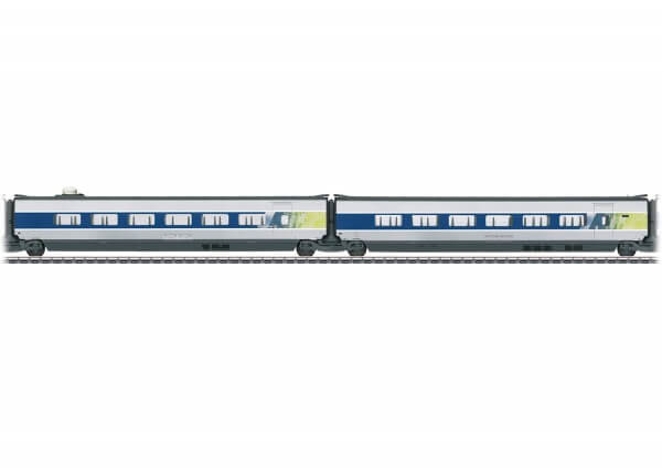 Märklin 43426 Ergänzungswagen-Set 1 zum TGV POS 37796