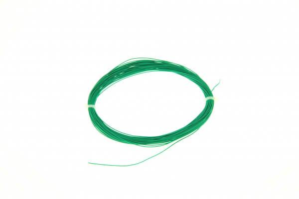 ESU 51945 Hochflexibles Kabel, Durchmesser 0,5mm, AWG36, 10m Wickel, Farbe grün