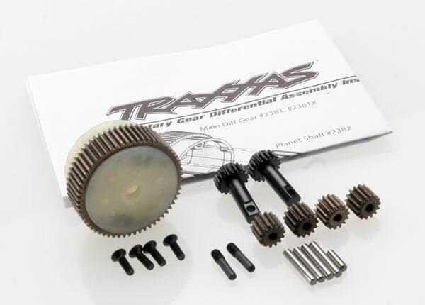 TRAXXAS® 2388X Planetendifferentialgetriebe mit Stahlring komplett