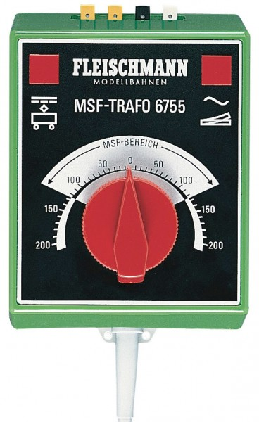 "FLEISCHMANN 6755 ""MSF""-Regel-Transformator groß"