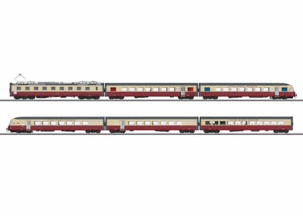 Märklin 37547 RAe 1.Kl. SBB/CFF/FFS TEE-Elektro-Triebwagen-Zug