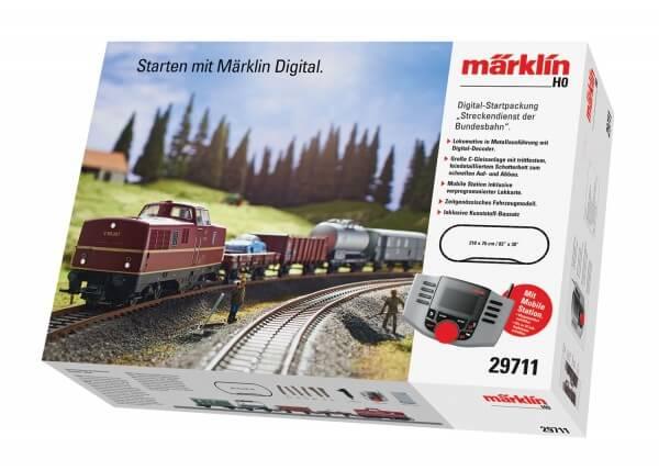 Märklin 29711 Digital-Startpackung Streckendienst der Bundesbahn mit V80