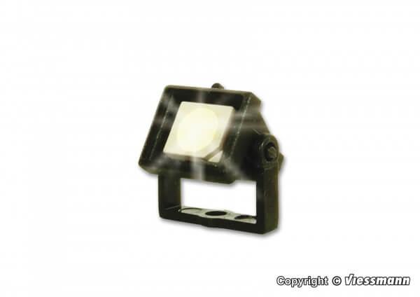 Viessmann 6333 Flutlichtstrahler klein rechteckig LED weiß
