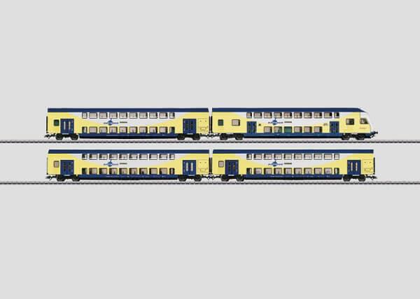 """Märklin 43475 Doppelstockwagen-Set """"metronom"""""""