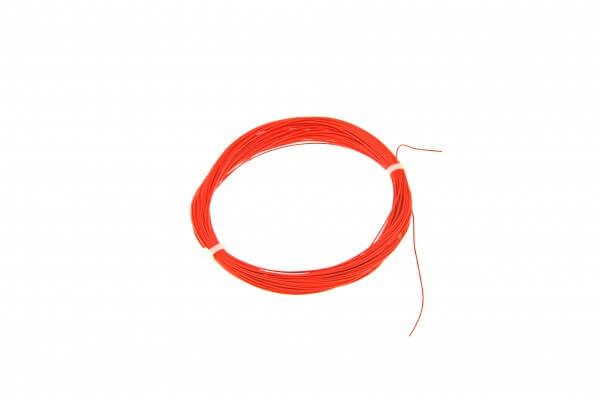 ESU 51943 Hochflexibles Kabel, Durchmesser 0,5mm, AWG36, 10m Wickel, Farbe rot