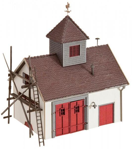 Faller 130336 Ländliches Feuerwehrhaus