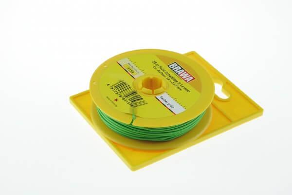BRAWA 3153 Schaltlitze, 0,14 mm², 25-m grün