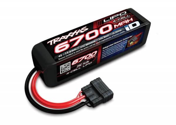 TRAXXAS® 2890X TRAXXAS® iD™ LiPo POWER CELL 6700 mAh 4S