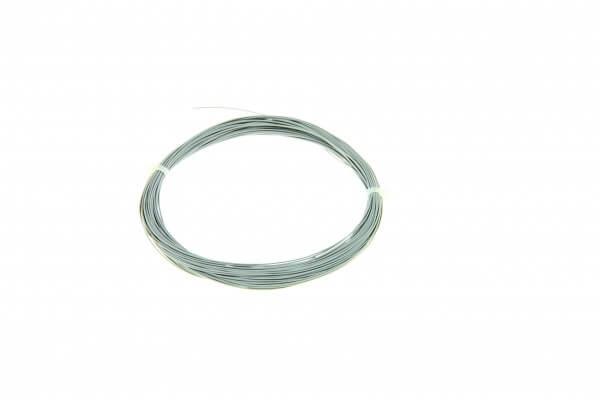 ESU 51946 Hochflexibles Kabel, Durchmesser 0,5mm, AWG36, 10m Wickel, Farbe grau