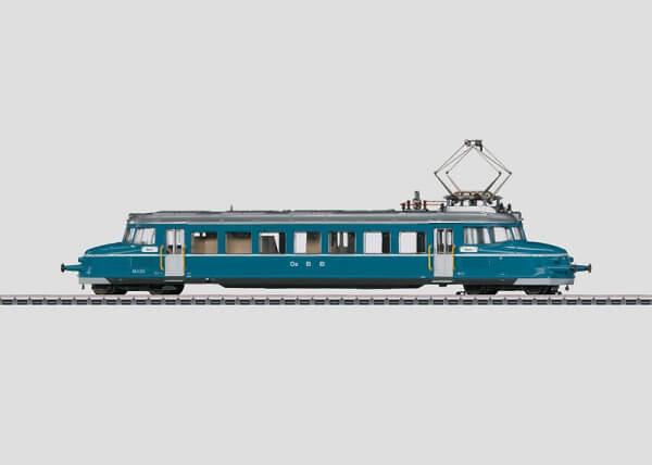 Märklin 37867 Serie RBe 2/4 Blauer Pfeil Elektrischer Schnelltriebwagen