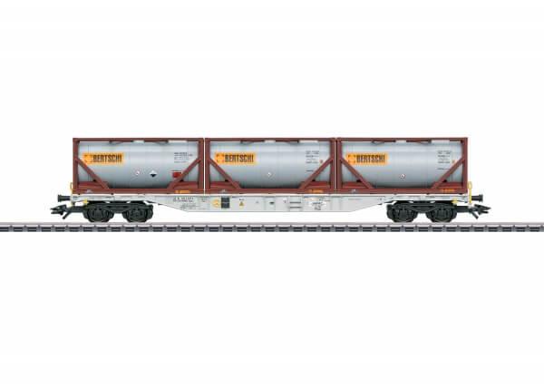Märklin 47097 Containertragwagen Sgnss BERTSCHI