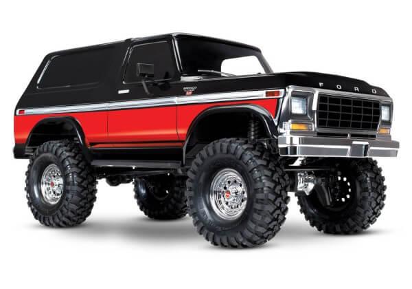 TRAXXAS® TRX4 Ford Bronco 1979 Red
