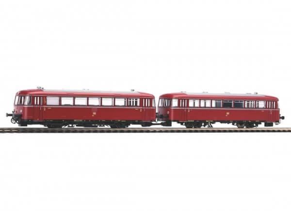 PIKO 52733 H0 Schienenbus 798 + Steuerwagen 998.6 mit Sound-Decoder