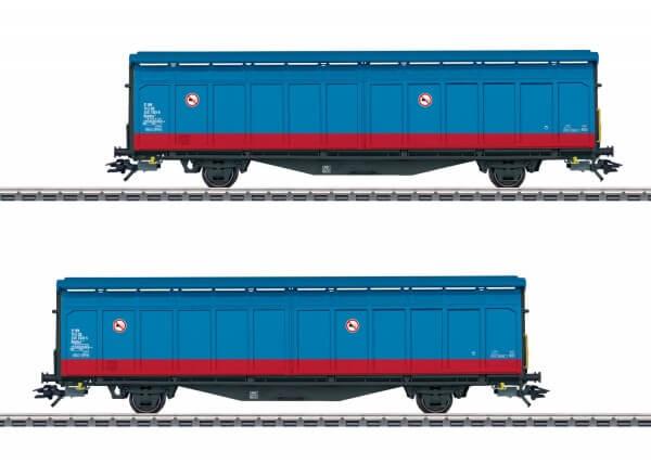 Märklin 48013 Schiebewandwagen-Set der Bauart Hbbillns der Schwedischen Staatsbahnen