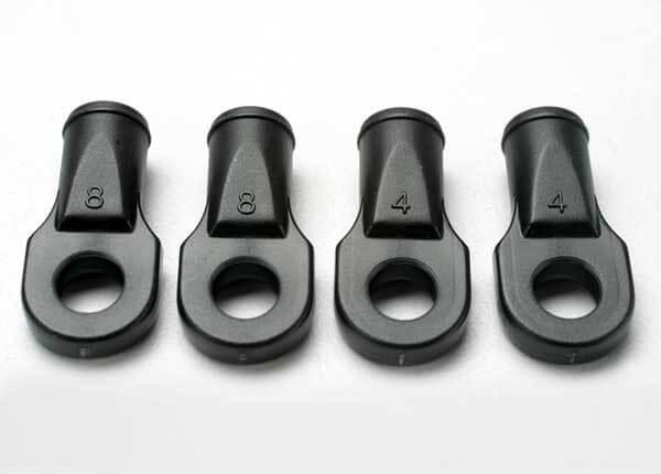 TRAXXAS® 5348 Kugelpfannen groß für Revo Heck Spurstangen