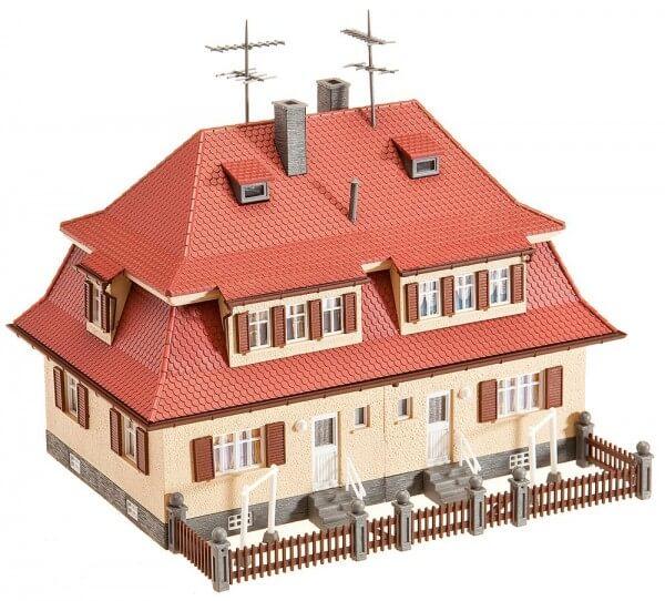 Faller 130464 Siedlungs-Doppelhaus