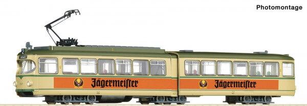 """Roco 52580 Straßenbahn """"Jägermeister"""""""