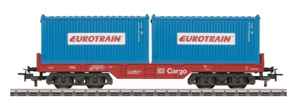 """Märklin 44451 Märklin Start up Containertragwagen """"EUROTRAIN"""""""