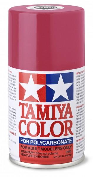 TAMIYA 300086033 PS 33 CHERRY ROT Polycarbonat 100ml
