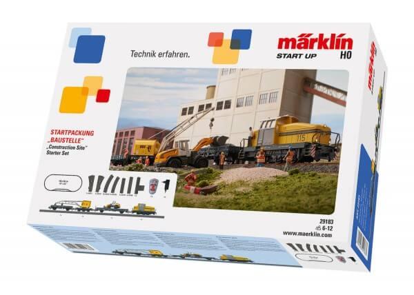 """Märklin 29183 Märklin Start up - Startpackung """"Baustelle"""" DHG 500"""