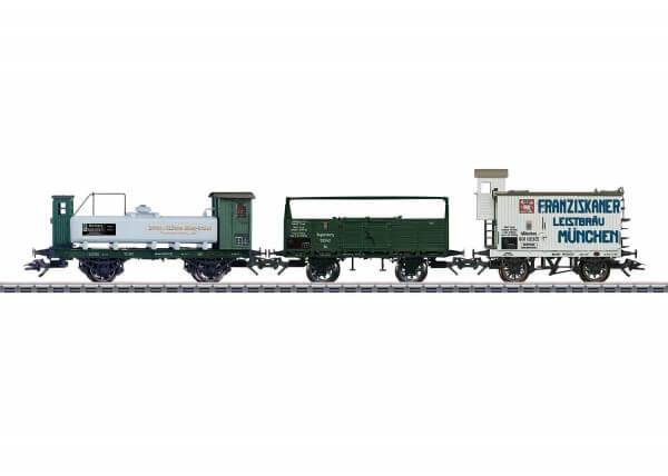 Märklin 46066 Güterwagen-Set der Königlich Bayerischen Staatseisenbahn