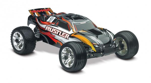 TRAXXAS® The Fastest Name in Radio Control Rustler XL-5 schwarz