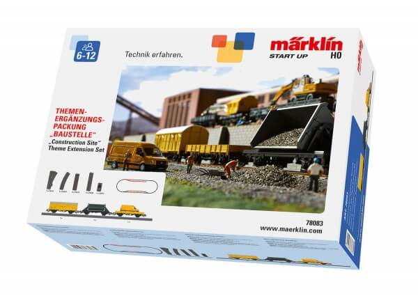 "Märklin 78083 Themen-Ergänzungspackung ""Baustelle"""