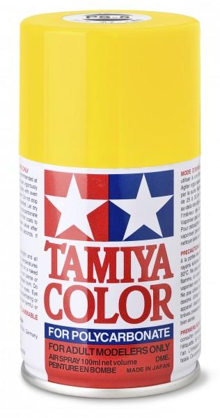 TAMIYA 300086006 PS-6 Gelb Polycarbonat 100ml