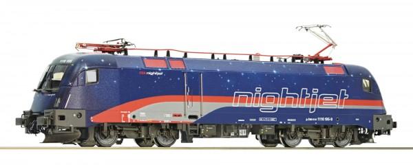 """Roco 73242 Elektrolokomotive 1116 195 """"Nightjet"""" ÖBB"""