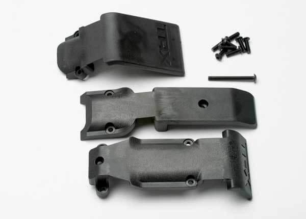 TRAXXAS® 5337 Skit plates Gleitplatten Set vorne und hinten