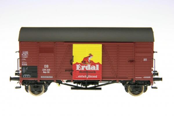 """BRAWA 47964 Gedeckter Güterwagen Gms 30 """"Erdal"""" der DB"""