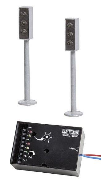 Faller 161840 2 LED-Ampeln mit Elektronik