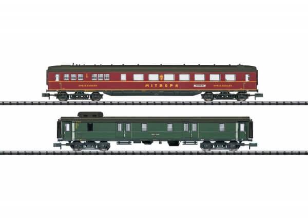 """Minitrix 15801 Schnellzugwagen-Set """"Berlin-Hamburg"""" 1 der Deutschen Reichsbahn"""