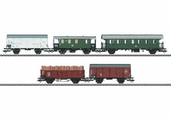 Märklin 48816 Güterwagen-Set Bie, LPwPost, Geh 20, Omm55
