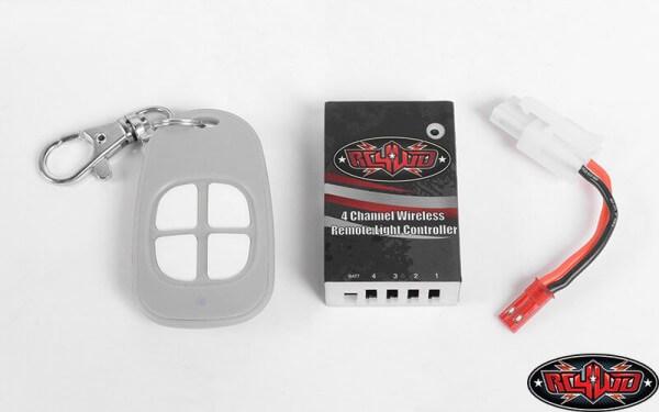 RC4WD Z-E0093 4-Kanal Funkferngesteuerte Lichtsteuerung mit Empfänger