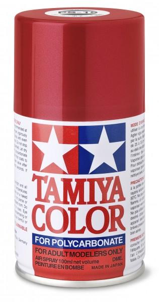 TAMIYA 300086015 PS-15 Metallic Rot Polycarbonat 100ml