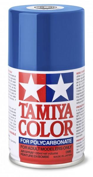 TAMIYA 300086030 PS 30 BRILLIANT BLAU Polycarbonat 100ml