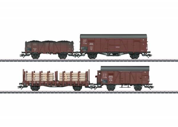 Märklin 46065 4 Güterwagen unterschiedlicher Bauart der DRG