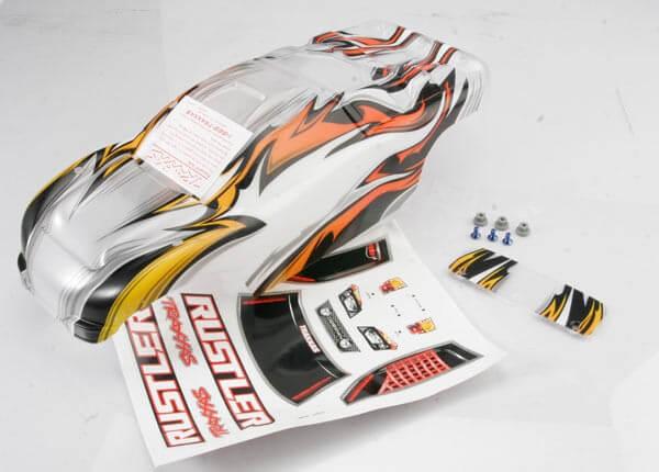 TRAXXAS® 3717 Karosserie Rustler ProGraphix® für dein exklusives Design