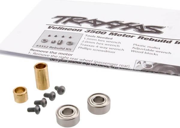 TRAXXAS® 3352 Rebuild kit Verschleißteile Satz für Velineon® 3500 brushless Motor