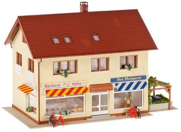 Faller 130489 Metzgerei/Bäckerei
